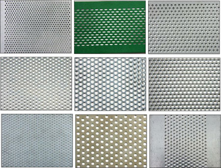 Perforated Shapes, Patterns
